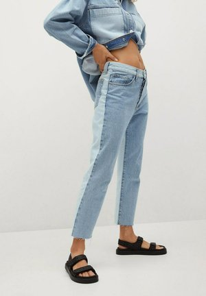 CINDY - Jeans a sigaretta - middenblauw