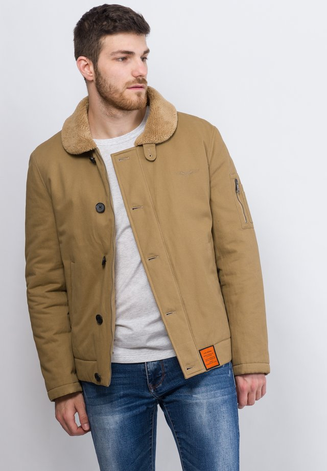 DECK JACKET - Jas - beige