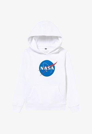 KIDS NASA INSIGNIA HOODY - Sweat à capuche - white
