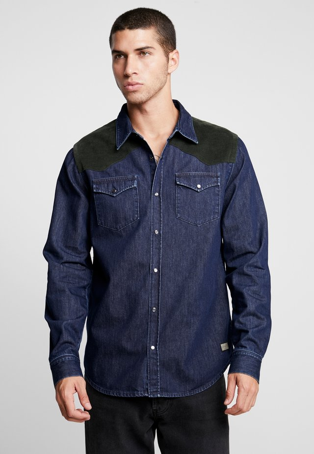 DAPPER - Shirt - dark blue denim