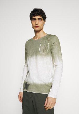 ENDEAVOUR ROUND - Maglietta a manica lunga - khaki