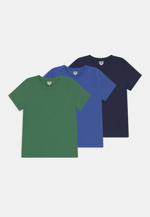3 PACK UNISEX - T-shirt basic - green