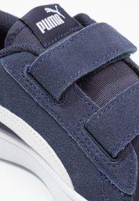 Puma - SMASH - Sneakers basse - peacoat/white - 5