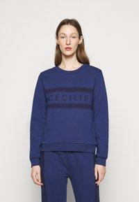 CECILIE copenhagen - MANILA - Sweatshirt - twilight blue - 0