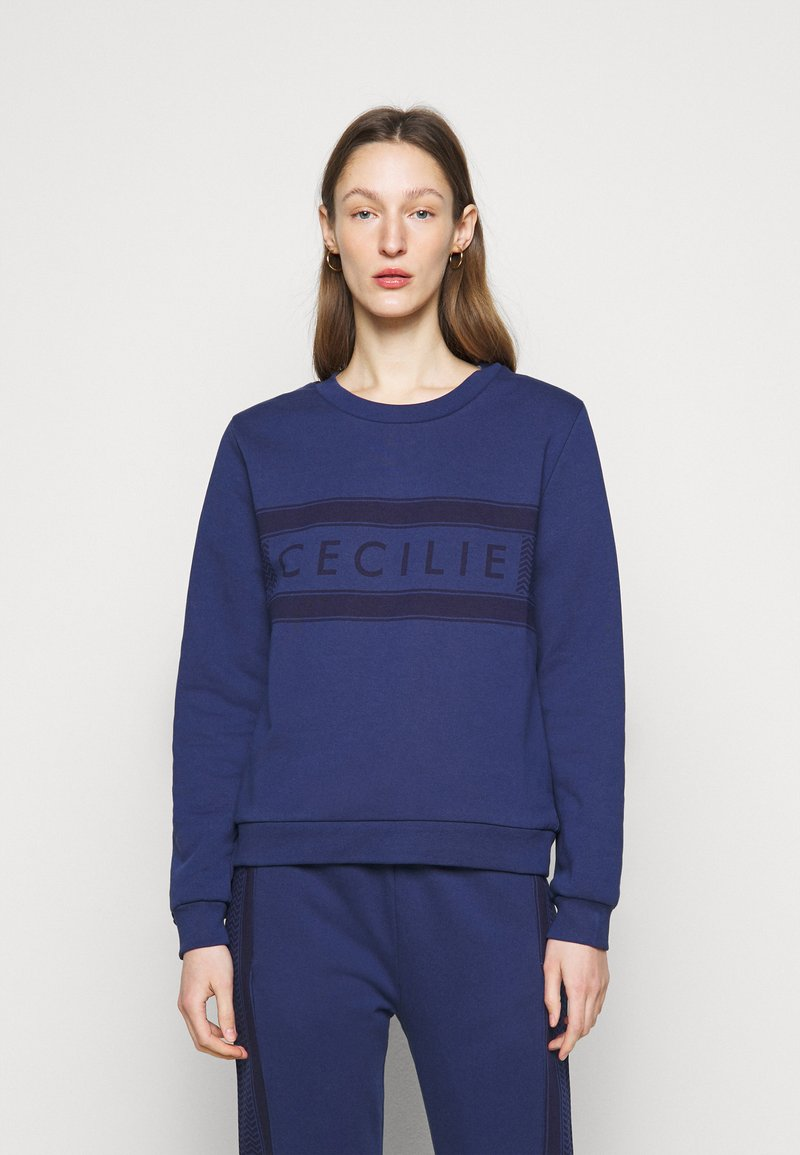 CECILIE copenhagen - MANILA - Sweatshirt - twilight blue