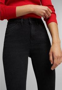 Esprit - Jeans Skinny Fit - black dark washed - 3