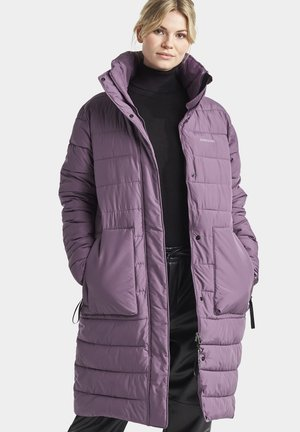 HILDA - Winter coat - eggplant