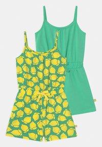 Lemon Beret - SMALL GIRLS 2 PACK - Jumpsuit - jade cream - 0