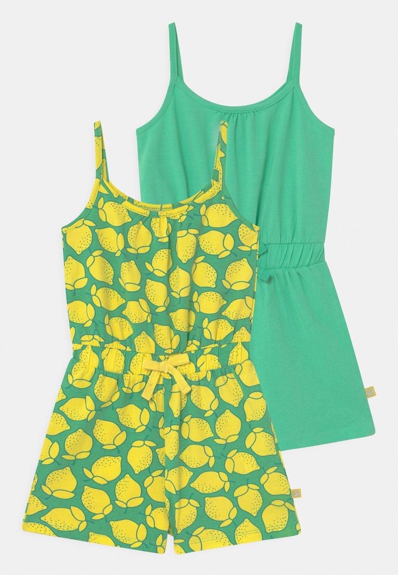 Lemon Beret - SMALL GIRLS 2 PACK - Jumpsuit - jade cream