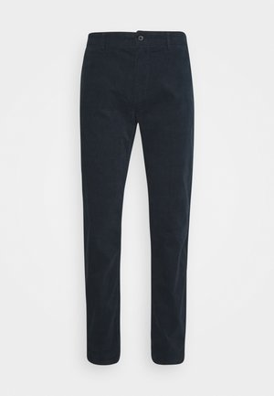 CORD TROUSERS - Trousers - navy