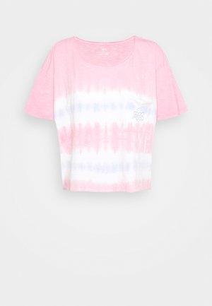 TIE DYE SLEEP TEE - Pyjama top - ballet pink