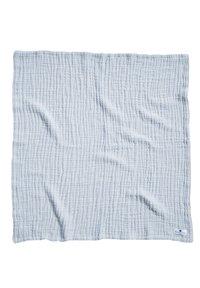 Nordic coast company - 4IN1 DECKE 2ER SET GRAU-BLAU - Muslin blanket - light blue - 3