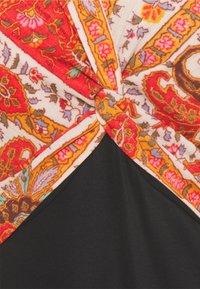 Desigual - YAKARTA - Długa sukienka - black - 2