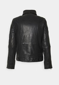 G-Star - AIR FORCE - Leather jacket - black - 1