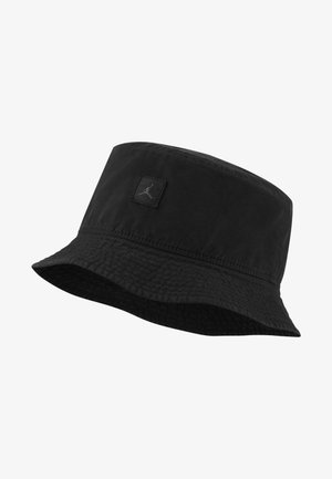 BUCKET WASHED UNISEX - Hatt - black