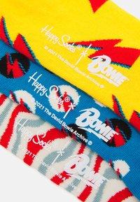 Happy Socks - BOWIE GIFT UNISEX SET 3 PACK  - Chaussettes - multi - 2