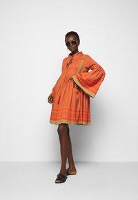 CECILIE copenhagen - SOUZARICA - Day dress - orange - 1