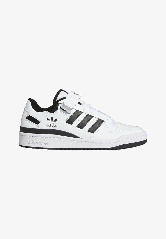 FORUM LOW UNISEX - Sneakers laag - white/core black