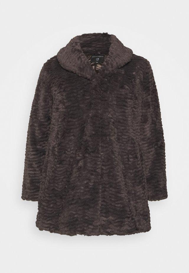 LONG LINE COAT - Winter coat - grey