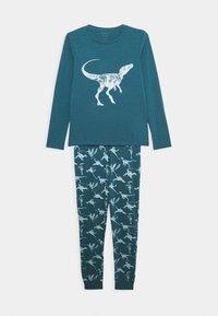 Name it - NKMNIGHTSET DINO - Pyjamas - real teal - 0