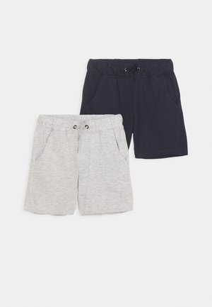 SMALL BOYS 2 PACK - Kraťasy - dark blue/grey