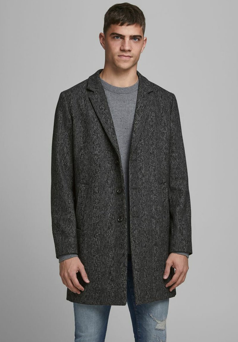 Jack & Jones - JJEMOULDER  - Short coat - caviar
