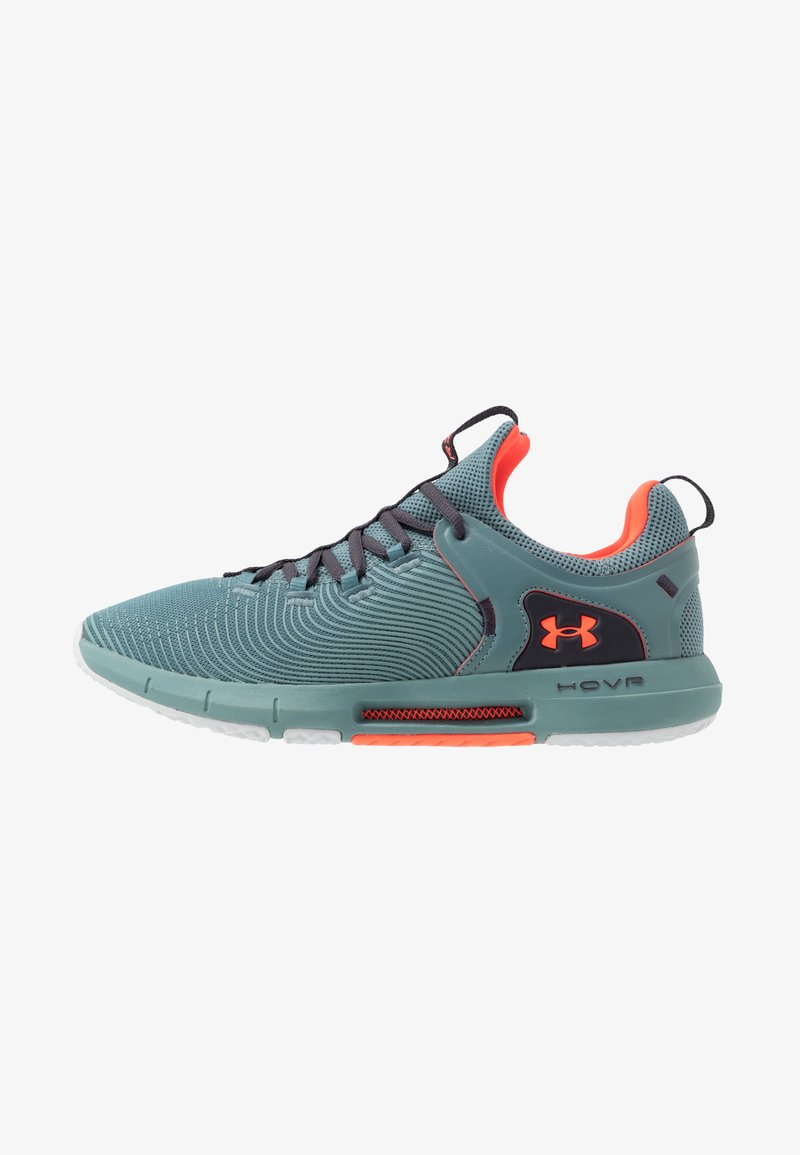 Under Armour - HOVR RISE  - Sports shoes - lichen blue