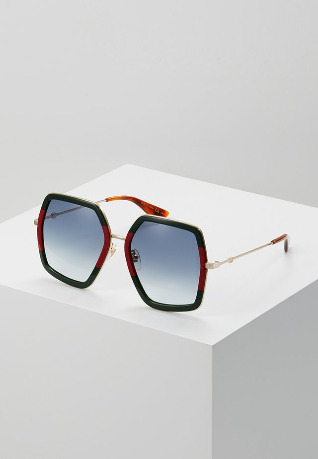 Sonnenbrille - green/red