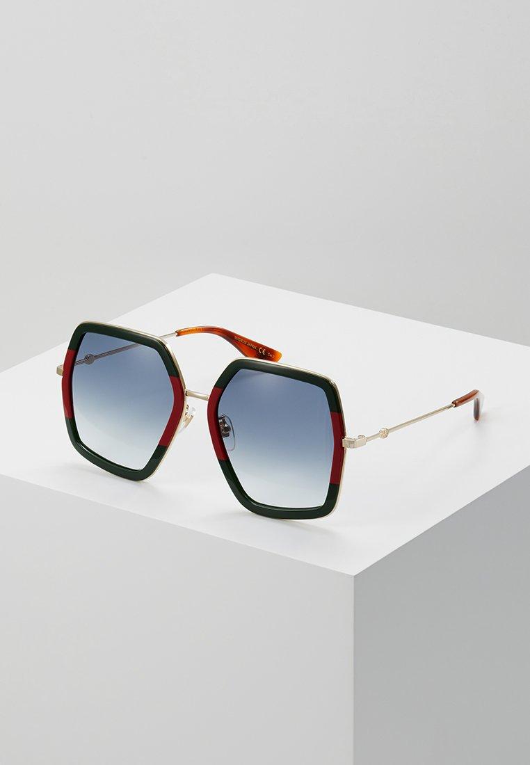 Gucci - Sluneční brýle - green/red