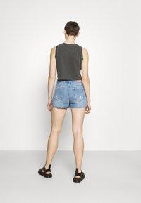 ONLY - ONLTEXAS LIFE - Denim skirt - light blue denim - 2