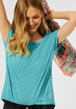 IN UNIFARBE - Basic T-shirt - grün