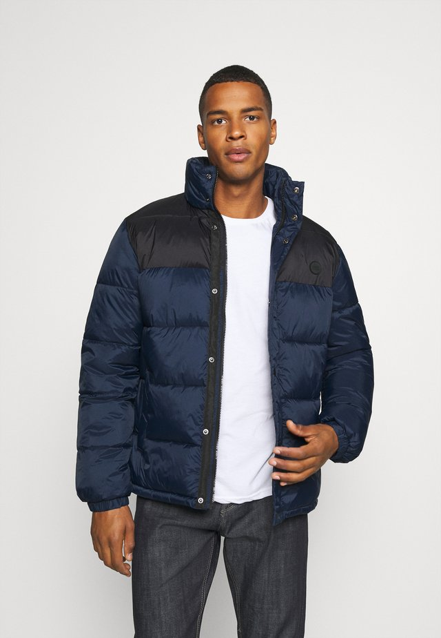 PUFFER JACKET - Winter jacket - navy/black