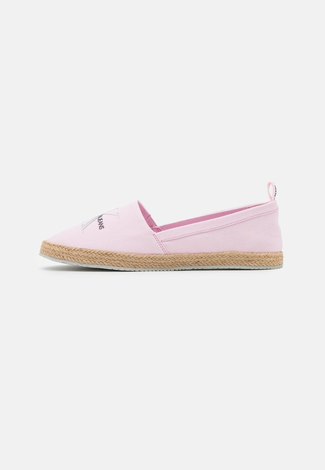 PRINTED  - Espadrillot - pearly pink