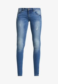 ONLY - ONLCORAL  - Vaqueros pitillo - medium blue denim - 3