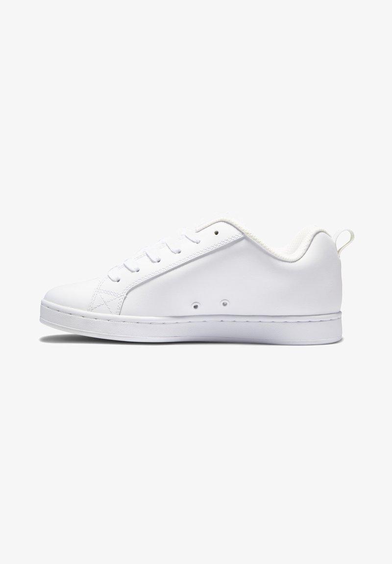 DC Shoes - COURT GRAFFIK - Sneakers laag - white/rainbow