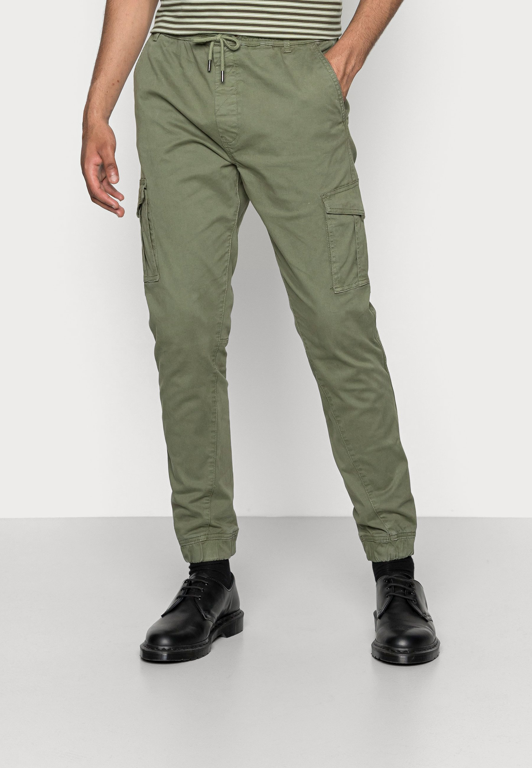 Men ANDERS ELASTICATED - Cargo trousers
