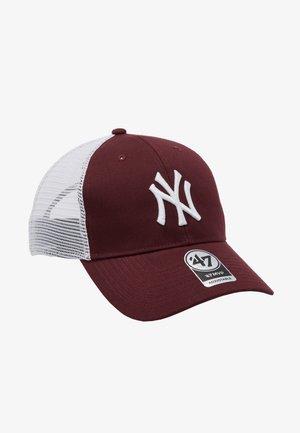 NEW YORK YANKEES BRANSON - Cap - dark maroon