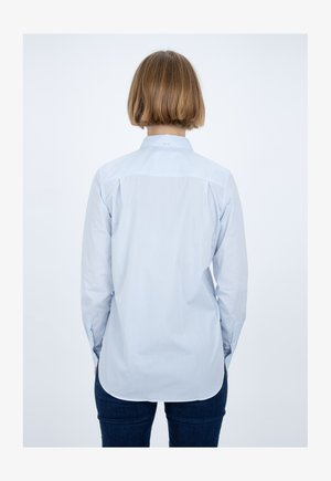 DEVIN - Button-down blouse - hellblau