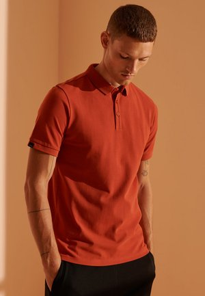REFINED PIQUE - Polo shirt - rustic red