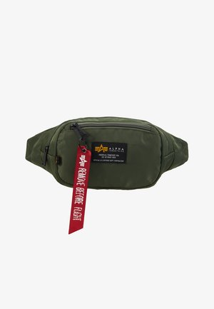 CREW WAISBAG - Bum bag - sage green