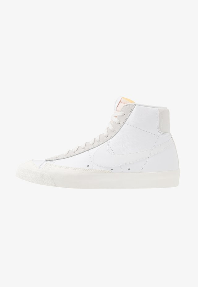 BLAZER MID VNTG '77 - Sneakers alte - white/sail/platinum tint