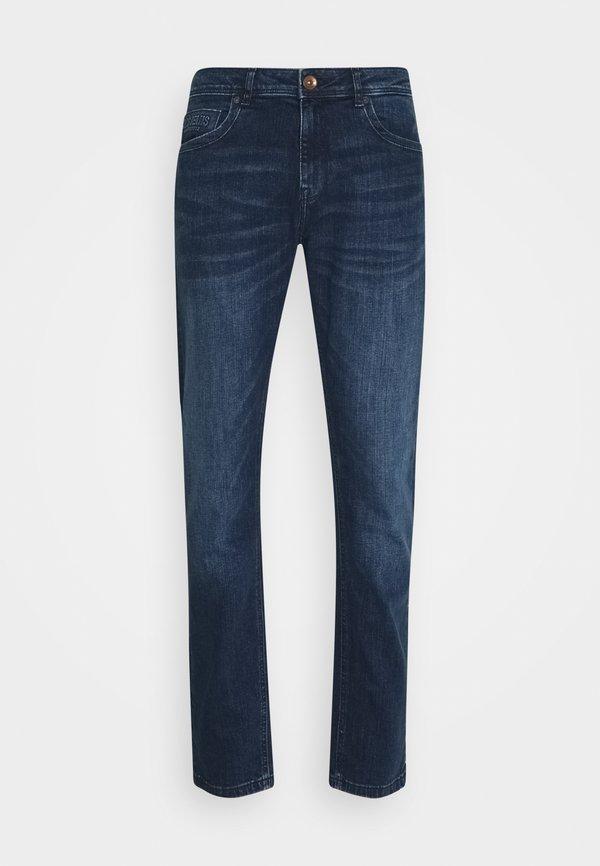 Cars Jeans DOUGLAS - Jeansy Straight Leg - dark used/niebieski denim Odzież Męska IPSO