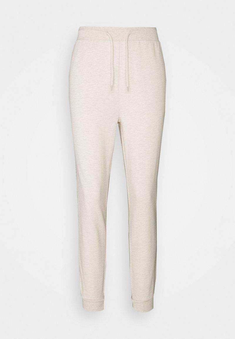 Even&Odd - SLIM FIT SWEAT JOGGERS  - Pantalones deportivos - mottled beige