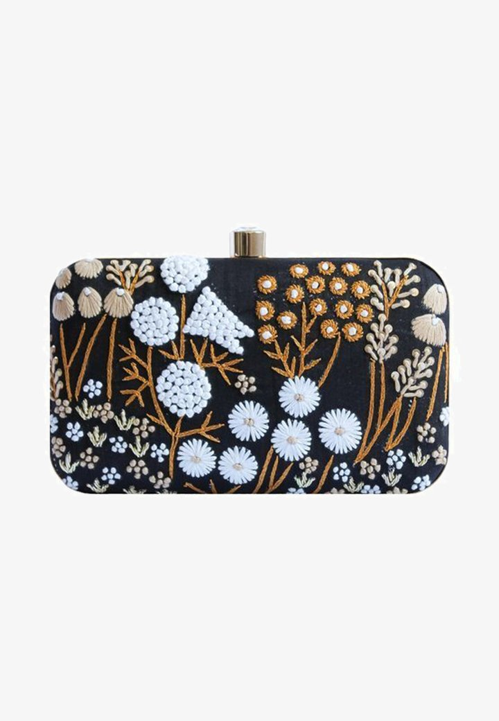 Bombay Sunset - LUCIA  - Clutch - black