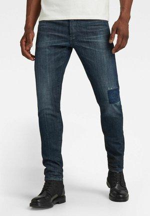 3301 SLIM - Slim fit jeans - worn in hale navy restored