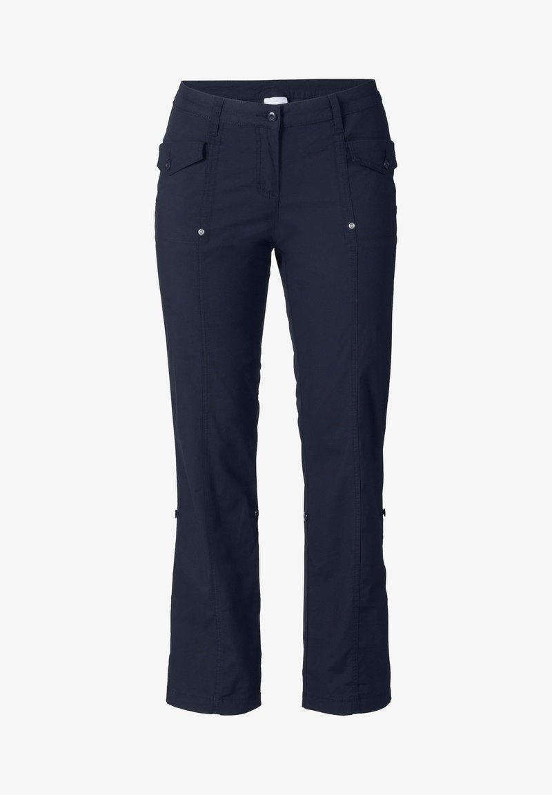 Sheego - Trousers - marine