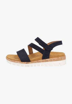 Sandaler - blue kork