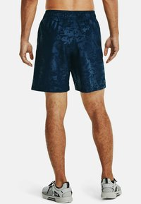 Under Armour - EMBOSS  - Shorts - academy // white - 2