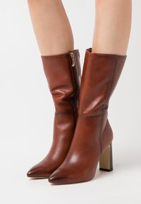 Tamaris - High heeled boots - cinnamon - 0