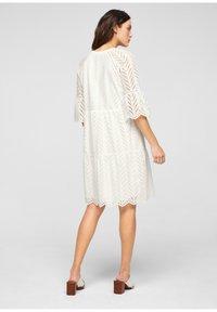 s.Oliver BLACK LABEL - Day dress - white - 2